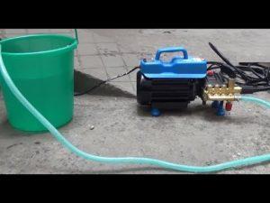 Cách xử lý máy rửa xe không hút được nước