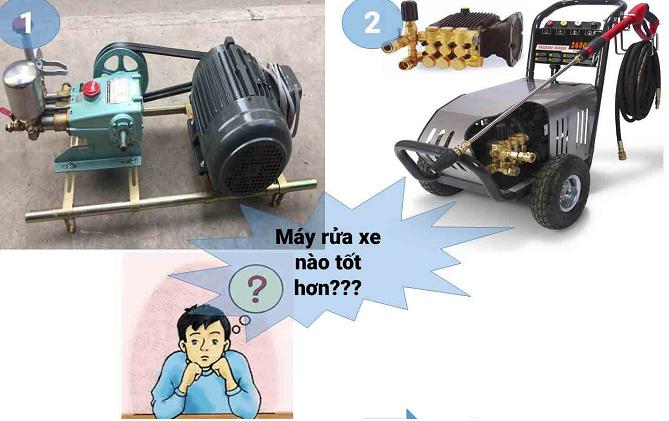 Phương pháp máy rửa xe không cần nước