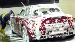 Phương pháp rửa xe bằng bọt tuyết