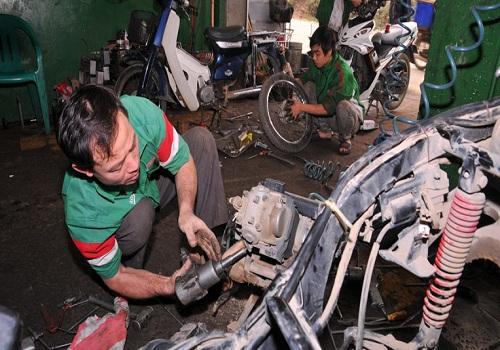 Cách khắc phục sự cố xe máy bị kẹt số
