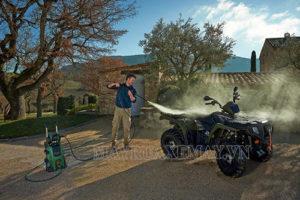 Máy rửa xe Bosch được trang bị motor từ siêu khỏe, độ bền cao