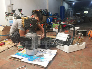 Sửa chữa máy rửa xe bị rung giật trong quá trình làm việc