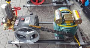Máy rửa xe dây đai đã khá quen thuộc với người dùng hiện nay
