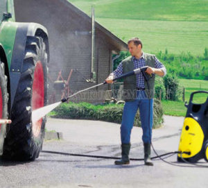 Tuân thủ đúng hướng dẫn sử dụng máy rửa xe cao áp