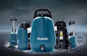 Máy rửa xe gia đình của Nhật mang thương hiệu Makita được khá nhiều người dùng Việt ưu ái