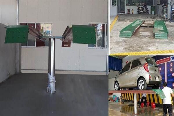Lắp đặt trạm rửa xe cần đầu tư những thiết bị nào?