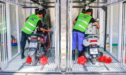 Vấn đề người dùng cần quan tâm khi đầu tư hệ thống rửa xe máy tự động