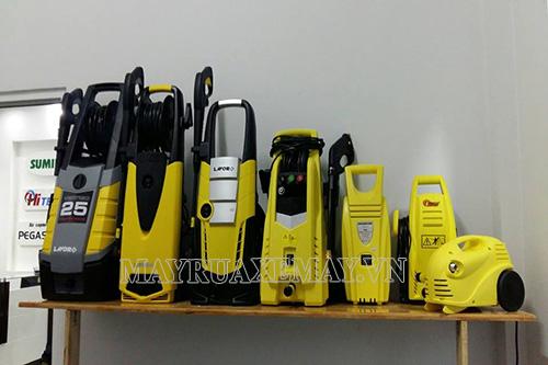 Thương hiệu Lavor nổi tiếng cung cấp nhiều sản phẩm máy bơm rửa xe