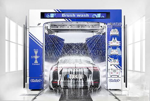 Mô hình rửa xe tự động