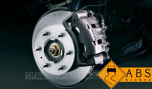 ABS là hệ thống chống bó phanh tự động trên xe hơi