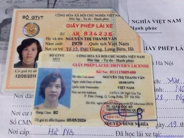 Hoàn thiện hồ sơ đăng ký đổi bằng lái xe máy
