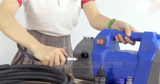 Cách lắp ráp máy rửa xe gia đình chuẩn tại nhà