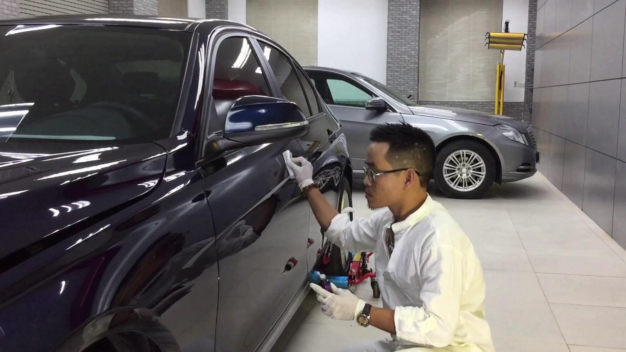 dịch vụ phổ biến trong nghề chăm sóc ôtô detailing