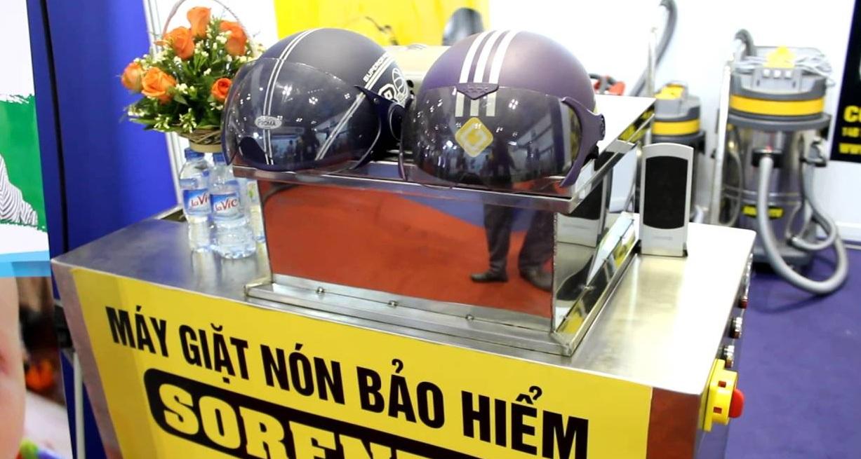 Máy giặt mũ bảo hiểm