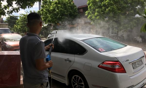 Tìm hiểu cấu tạo và nguyên lý hoạt động máy rửa xe