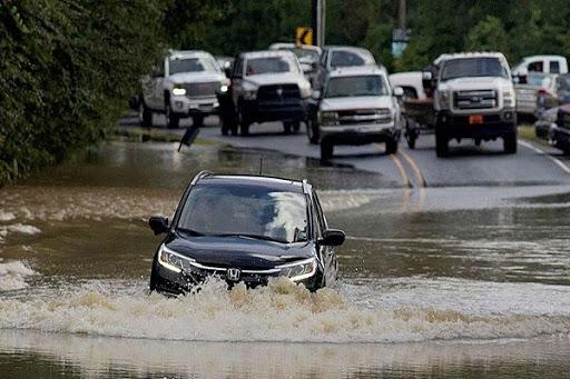 Một số lưu ý dành cho các tài xế khi di chuyển đoạn đường ngập