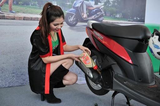 Bảo dưỡng xe máy giúp tiết kiệm nhiên liệu