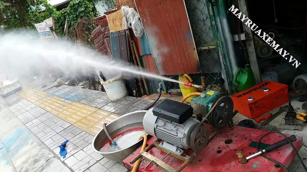 Ưu điểm máy rửa xe cũ