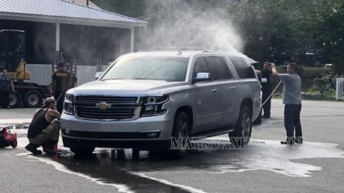 Máy rửa xe mini đặc biệt có khả năng tiết kiệm nước