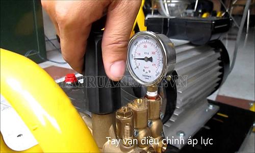 xử lý máy rửa xe bị mất áp