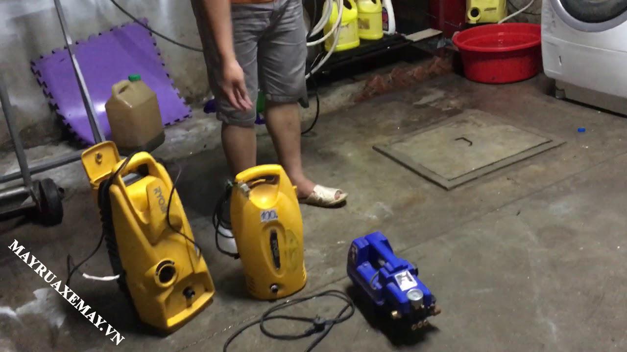 Nhược điểm máy rửa xe cũ