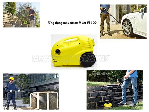Ứng dụng của máy rửa xe gia đình