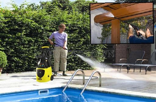 Ứng dụng của máy rửa xe gia đình V-jet