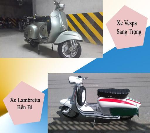 Xe Vespa và Lambretta sang trọng – bền bỉ