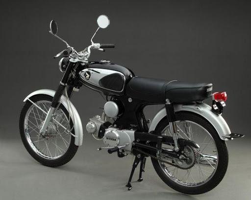 Xe Honda 67 cổ thời bấy giờ