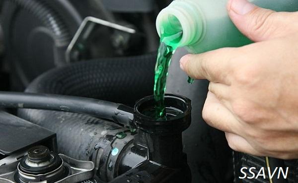Một số chú ý khi thực hiện thay nước làm mát cho xe máy