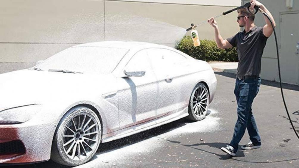 hình thức rửa xe không chạm