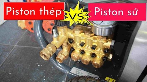 Piston sứ có chất lượng tốt hơn piston thép