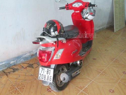 cách đổi biển số xe gắn máy bị xấu