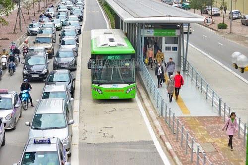 Lỗi sai làn BRT