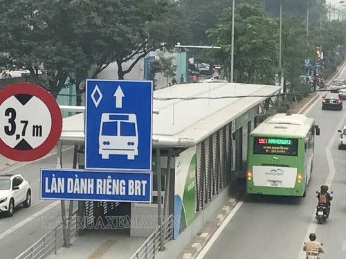 sai làn BRT sẽ bị xử lý như thế nào