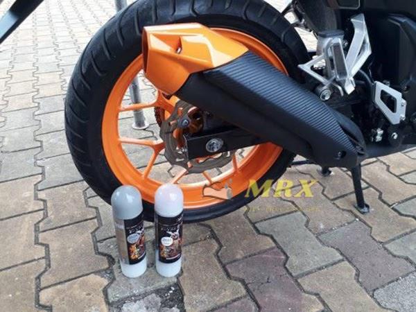 quy trình sơn xe máy đơn giản
