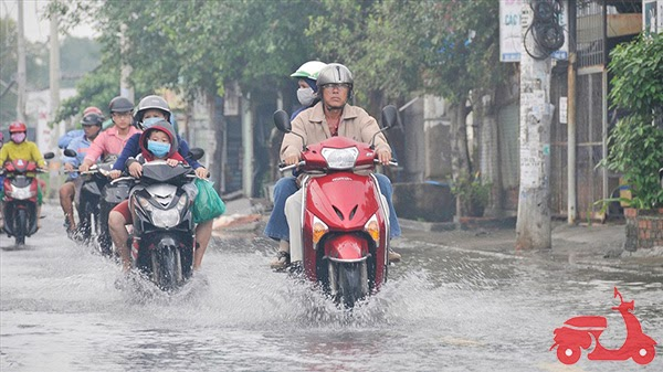 xe máy bị ngập nước là gì