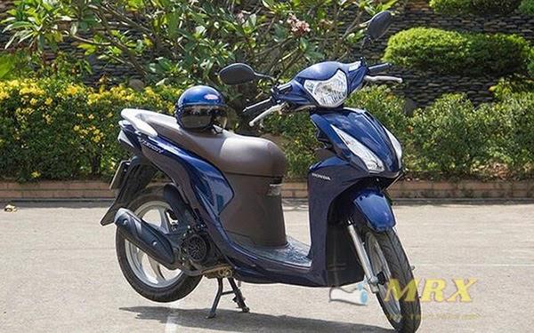 xe máy không gương phạt như nào
