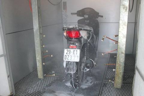 Những lợi ích hệ thống máy rửa xe tự động mang lại