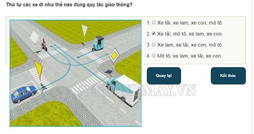 Cách học luật giao thông nhanh nhất và nhớ lâu nhất là ghi nhớ quy luật của các câu hỏi sa hình