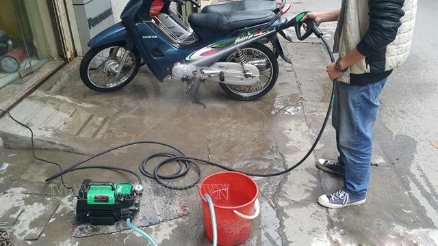 Cách khắc phục máy rửa xe gia đình phun yếu