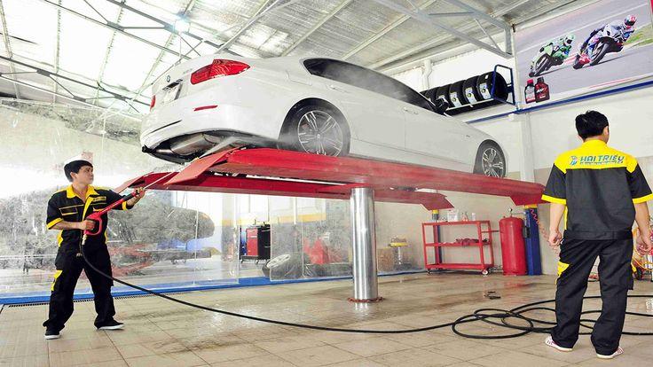 Những vật dụng cần thiết khi khi kinh doanh dịch vụ rửa xe chuyên nghiệp.