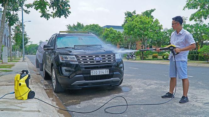 Những vật dụng cần thiết trong việc rửa xe ô tô tại nhà