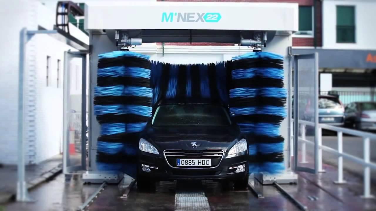 Hệ thống rửa xe oto tự động