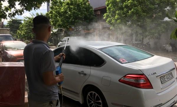 nguyên lý hoạt động chung của máy rửa xe