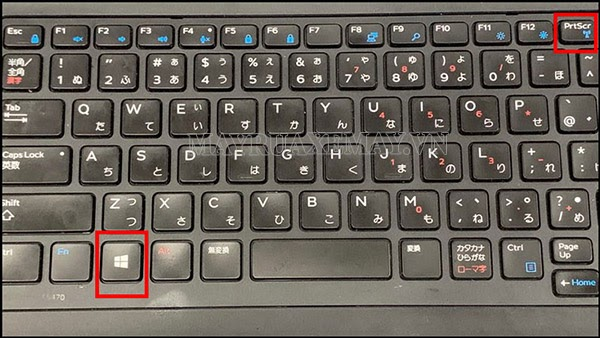 chụp màn hình laptop