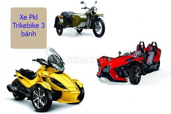 dòng xe PKL 3 bánh