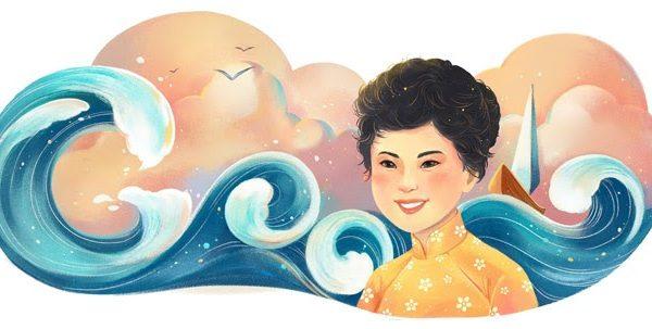 Xuân Quỳnh – Nữ thi sĩ trữ tình đầu tiên được vinh danh trên Google