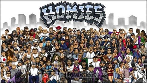homies nghĩa là gì?