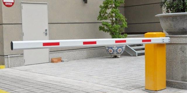 Lắp đặt barrier cần thẳng